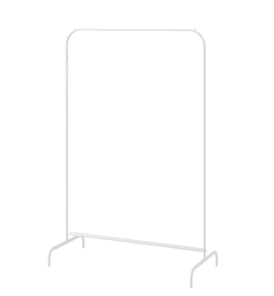 IKEA MULIG ムーリッグ 洋服ラック, ホワイト