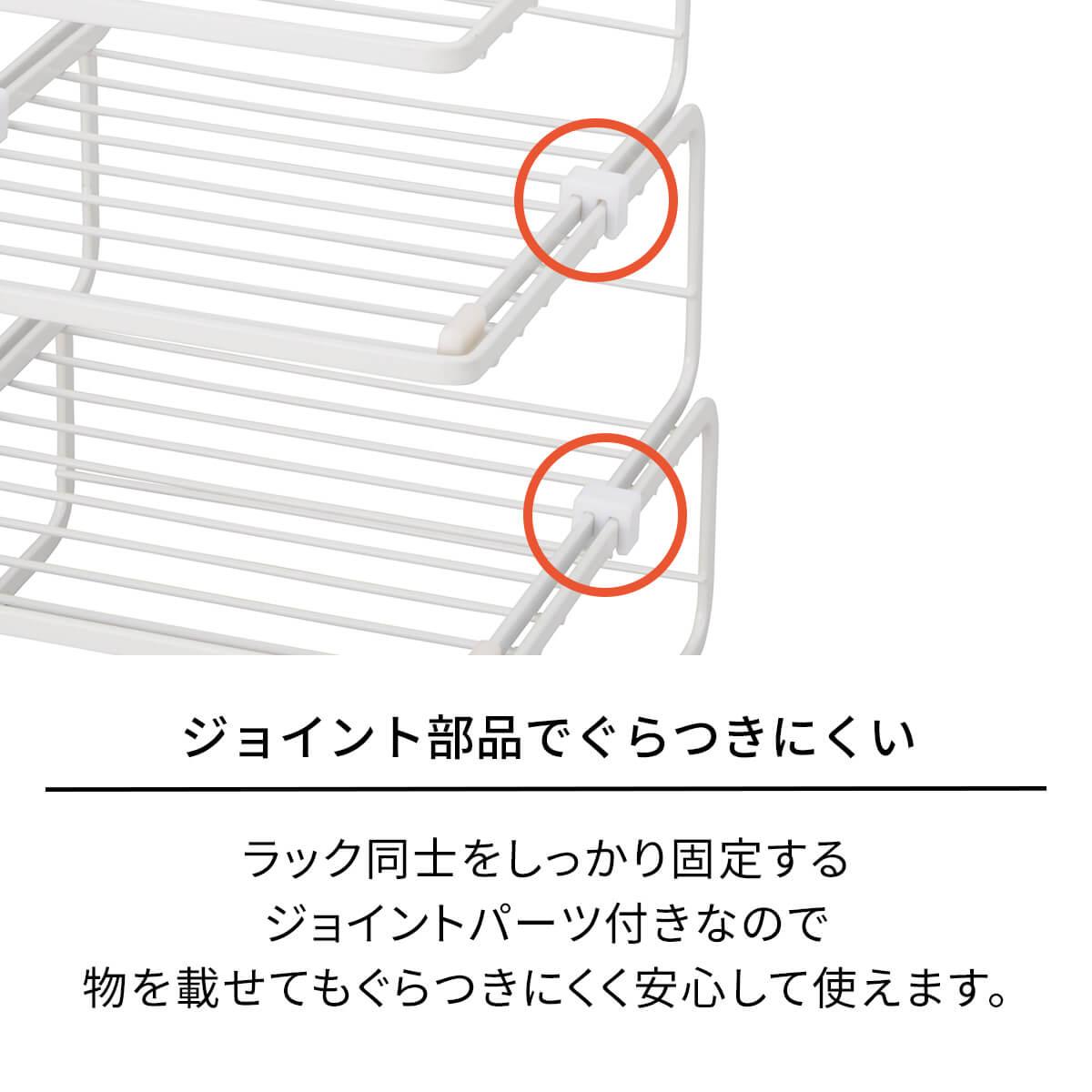 ァビエ ディッシュラック3段 すっきり整頓シリーズ